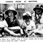 A New Year picnic at the beach, 1 January 1924