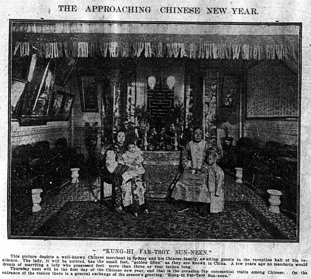 'Kung-hi far-tsoy sun-neen', Daily Telegraph, 5 February 1910, p. 15