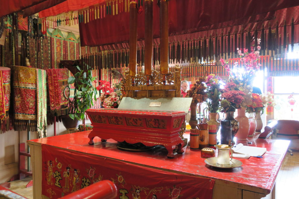 Tam Kung Temple in the Yen Wo Building, 1713 Government Street, Victoria, 11 July 2016