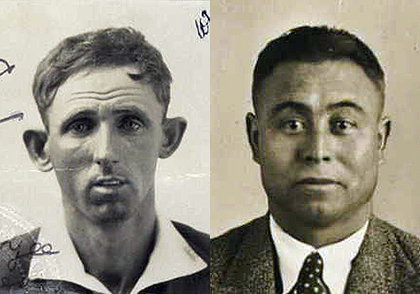 Ernest Sung Yee and Charles Liu, early 1930s