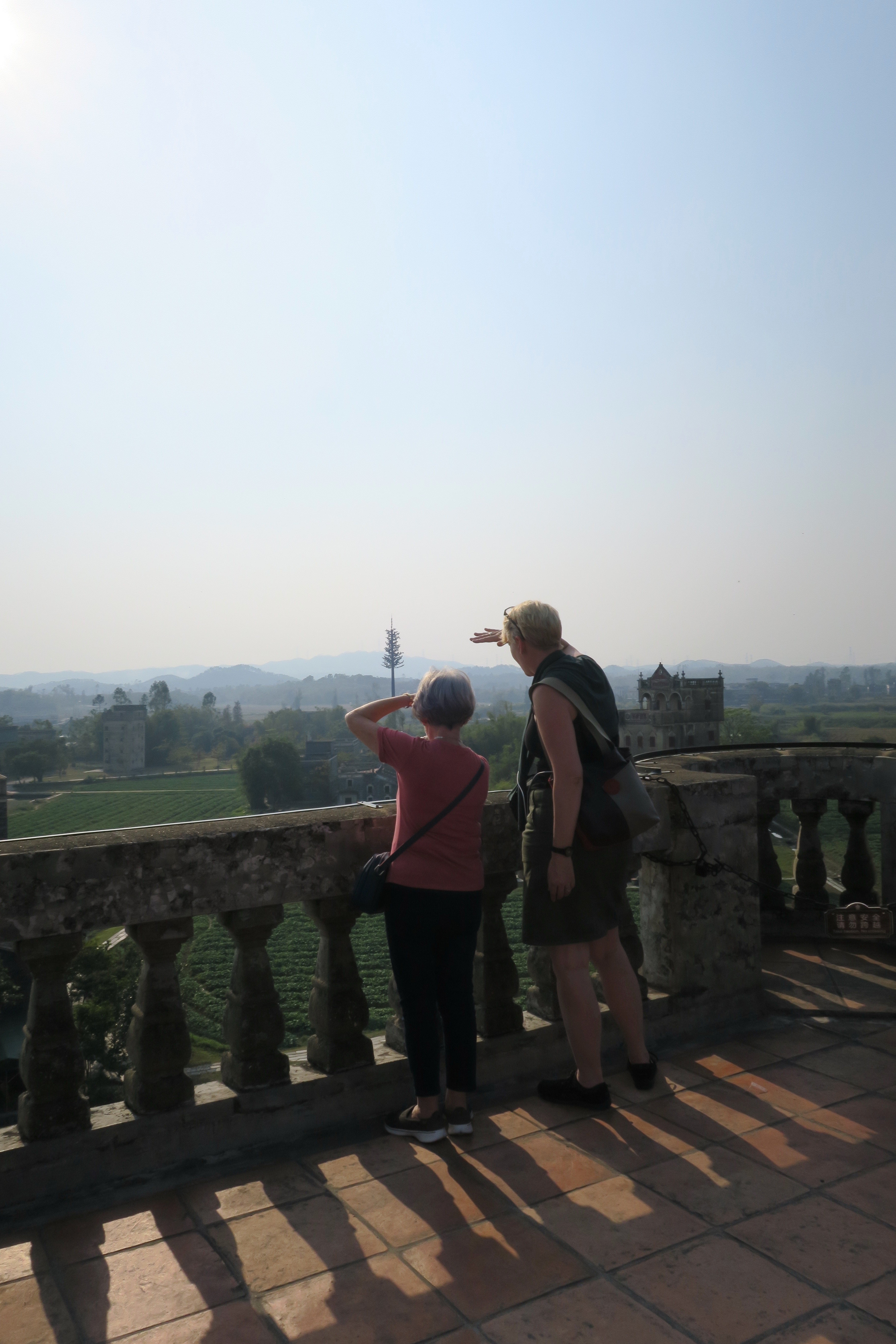 The tigers mouth thoughts on the history and heritage of chinese zili village tangkou kaiping taking in the view from the top one of the unesco world heritage listed mansions in zili built by overseas chinese in the publicscrutiny Images