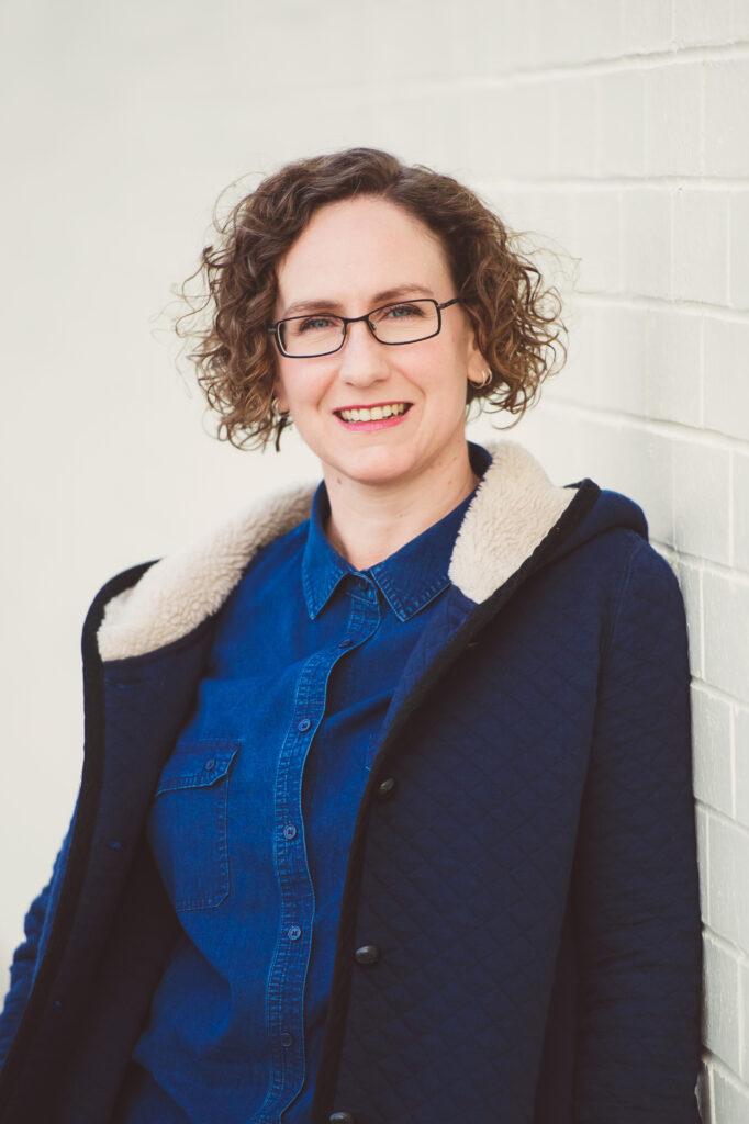 Portrait photograph of Kate Bagnall